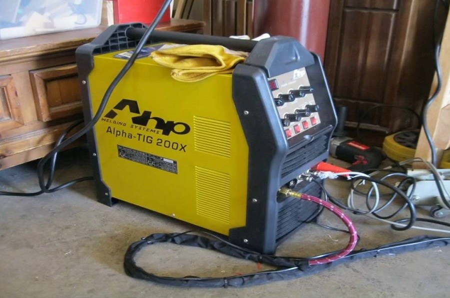 AHP TIG IGBT TIG/Stick Welder Review