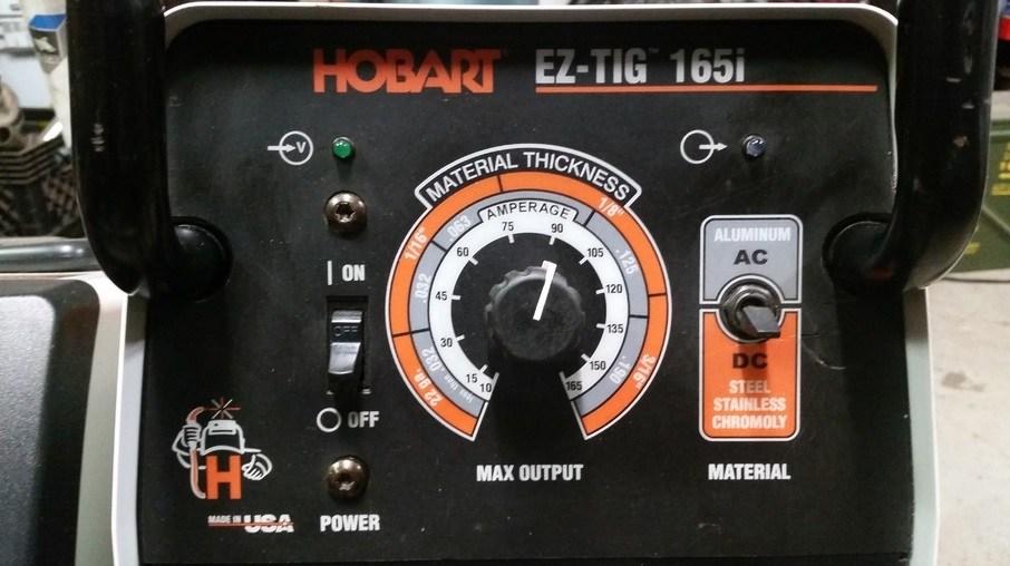 Hobart Tig Welder >> Hobart Ez Tig 165i Review Hobart 500551 Ez Tig 165i Ac Dc Tig