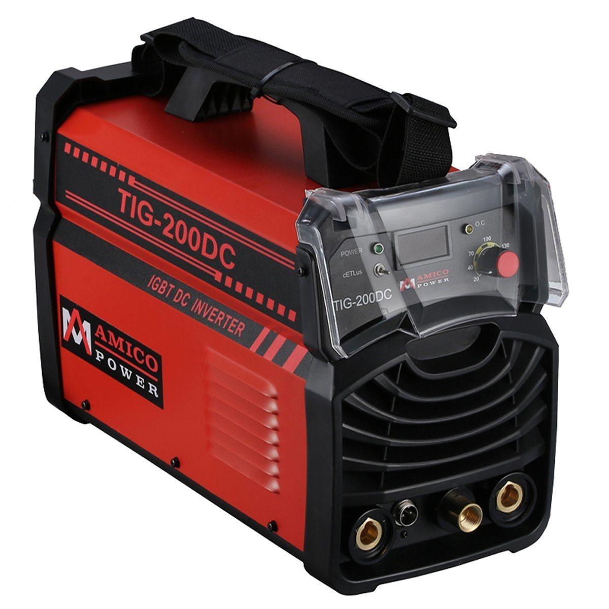 Amico TIG-200 Amp TIG Torch Stick ARC DC Inverter Welder